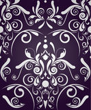 Abstract seamless damask Royalty Free Stock Image