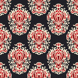 Abstract seamless damask floral vector  esign Stock Photo