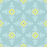 Abstract seamless damask pattern for fabric Royalty Free Stock Image