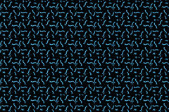 Abstract Seamless dark geometric pattern of prisms or crosses. Geometry grid texture. Prism flower figures background. Black brown Royalty Free Stock Photo
