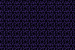 Abstract Seamless dark geometric pattern of prisms or crosses. Geometry grid texture. Prism flower figures background. Black brown Royalty Free Stock Image