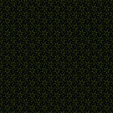 Abstract Seamless dark geometric pattern of prisms or crosses. Geometry grid texture. Prism flower figures background. Black brown Stock Photography