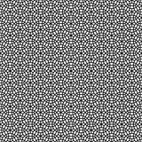 Abstract Seamless Decorative Geometric Dark Gray & Black Pattern Stock Image