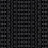 Abstract Seamless Decorative Geometric Dark Gray & Black Pattern Stock Photos