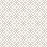 Abstract Seamless Decorative Geometric Light Gold & White Pattern Royalty Free Stock Photos