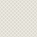 Abstract Seamless Decorative Geometric Light Gold & White Pattern.  Stock Images