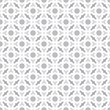 Abstract Seamless Decorative Geometric Light Gray & White Pattern Background Royalty Free Stock Image