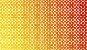 Abstract Seamless Diamonds and Circles in Gradated Red, Orange and Yellow Background vector illustration