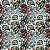 Abstract seamless doodle pattern Stock Image