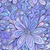 Abstract seamless doodle pattern Royalty Free Stock Photos