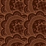 Abstract seamless doodle pattern Royalty Free Stock Image