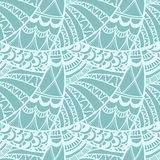 Abstract seamless doodle pattern Royalty Free Stock Photo