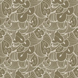 Abstract seamless doodle pattern Stock Photography