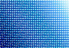 Abstract Seamless Dots Pattern in Gradated Blue Background stock illustration