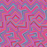 Abstract seamless ethnic geometric pattern Royalty Free Stock Images