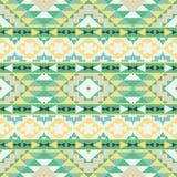 Abstract seamless ethnic geometric pattern Stock Image