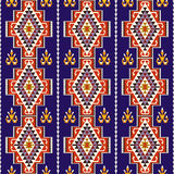 Abstract seamless ethnic pattern . Stock Photo