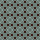 Abstract seamless ethnic patterns Royalty Free Stock Photos
