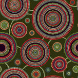 Abstract seamless ethnic style background Royalty Free Stock Photography