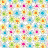 Abstract seamless floral background Stock Images