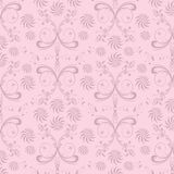 Abstract seamless floral background Stock Photo