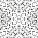 Abstract seamless floral background Stock Photos