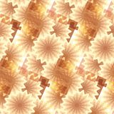 Abstract seamless floral background. Royalty Free Stock Images