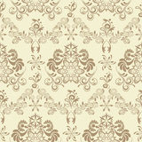 Abstract seamless floral pattern. Illustration Royalty Free Stock Image