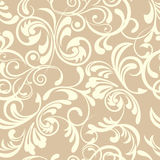 Abstract seamless floral pattern Royalty Free Stock Image
