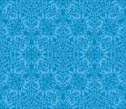 Abstract seamless floral pattern. Retro background. Vector illustration Stock Image