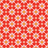 Abstract seamless floral pattern. Colorful background with flowers stock illustration