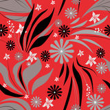 Abstract seamless floral pattern Royalty Free Stock Photos