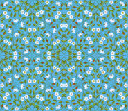 Abstract seamless floral pattern Stock Images