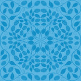 Abstract seamless floral pattern. Retro background. Vector illustration Stock Photo