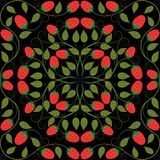 Abstract seamless floral pattern. Retro background. Vector illustration.n Royalty Free Stock Photos