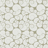 Abstract seamless floral swirls wallpaper Royalty Free Stock Image