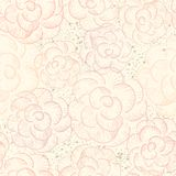 Abstract seamless flower texture Stock Photography