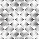 Abstract seamless geometric black and white background Royalty Free Stock Image