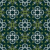 Abstract seamless geometric contrasty pattern Stock Photo
