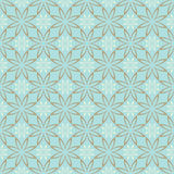 Abstract Seamless geometric floral pattern Stock Image