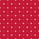 Abstract Seamless geometric floral pattern Stock Photos