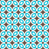 Abstract Seamless geometric floral pattern. Vector illustration Stock Illustration