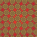 Abstract seamless geometric florals simple pattern background an Royalty Free Stock Photography