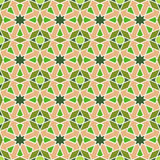 Abstract seamless geometric islamic mosaic Royalty Free Stock Photos