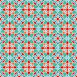 Abstract seamless geometric islamic mosaic Royalty Free Stock Photo
