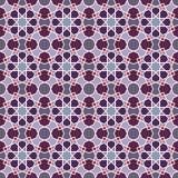 Abstract seamless geometric islamic mosaic Stock Photo