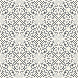 Abstract seamless geometric islamic wallpaper pattern Stock Images