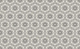 Abstract seamless geometric islamic wallpaper pattern Stock Photography