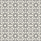 Abstract seamless geometric islamic wallpaper pattern Royalty Free Stock Image