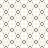 Abstract seamless geometric islamic wallpaper pattern Royalty Free Stock Images